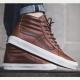 Vans Sk8-Hi Reissue (Leather) Dachshund/Potting Soil