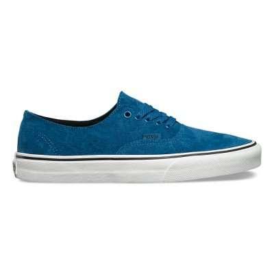 Vans Authentic Decon (Pig Suede) Blue Ashes