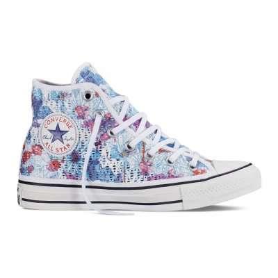 Converse CTAS Hi Floral Crochet
