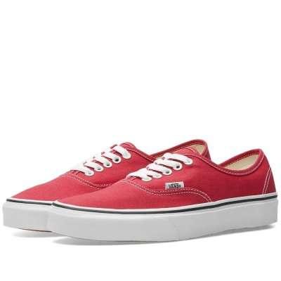 Vans Authentic Crimson