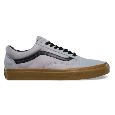 Vans Old Skool (Gum Outsole) Alloy/Black