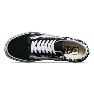 Vans Old Skool (Skulls) Black
