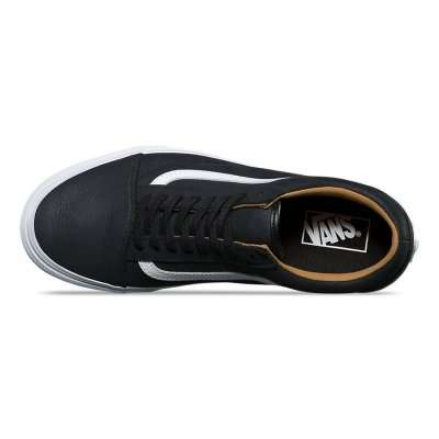Vans Old Skool Premium Leather Black\White