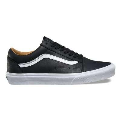 Vans Old Skool Premium Leather Black\White
