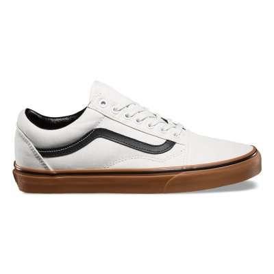 Vans Old Skool (Gum) Blanc de Blanc/Black