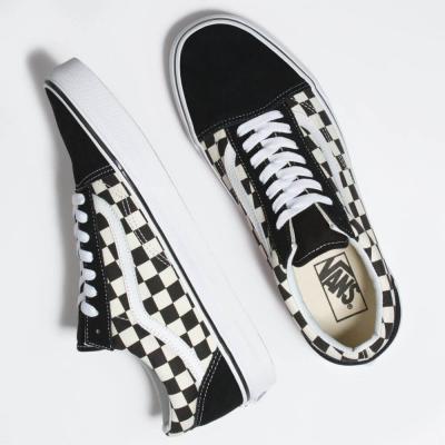 Vans Old Skool (Primary Check) Black/White