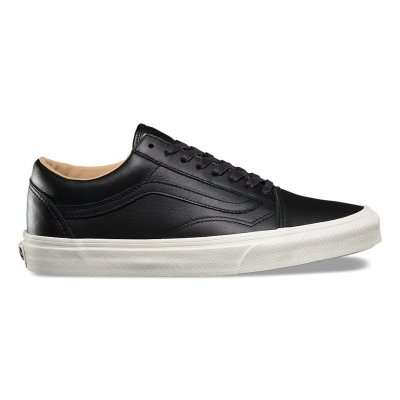 Vans Old Skool (Lux Leather) Black/Porcini
