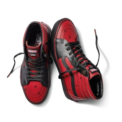 Vans Sk8-hi (Marvel) Deadpool/Black