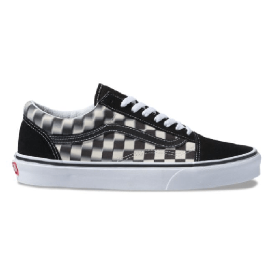 Vans Old Skool (Blur Check) Black