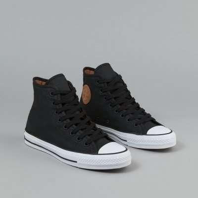 Converse CTAS PRO HI Black/Rubber