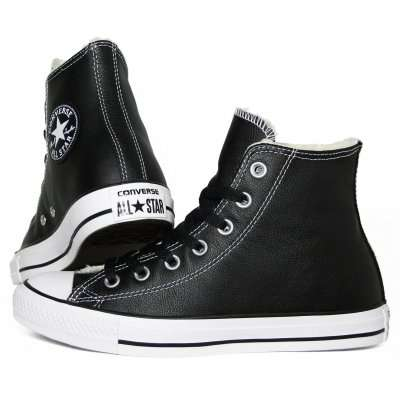 Converse CT HI Shearling Leather Black\White