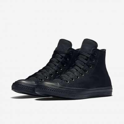 Converse II Black/Black Hi