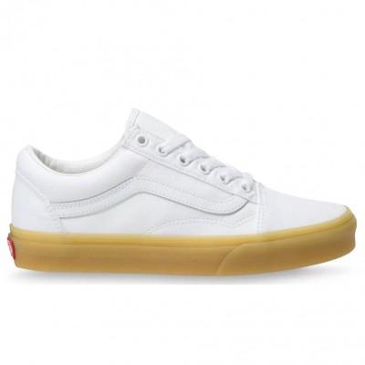 Vans Old Skool (Double Light Gum) True White