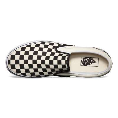 Vans Classic Slip-On Black & White Checkerboard