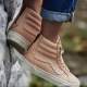 Vans Sk8-Hi Reissue Zip DX (Veggie Tan Leather) Tan