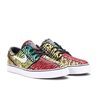 Nike SB Stefan Janoski Chilling Red/White, Lucid Green, Turbo Yellow