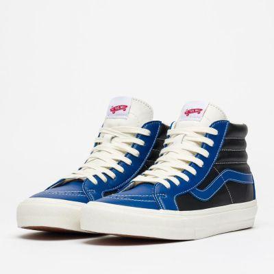 Vans Vault Sk8-Hi Reissue LX (Leather) True Blue/Black