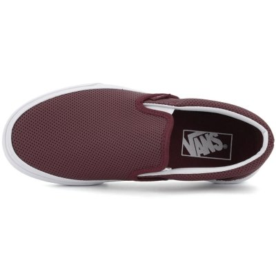 Vans Slip-On (Perf Leather) Port Royale