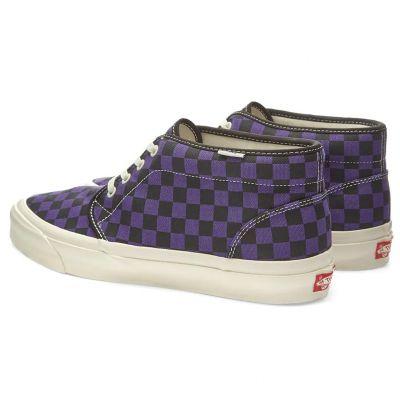 Vans Vault OG Chukka LX (Canvas/Checkerboard) Heliotrope
