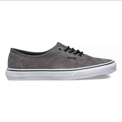 Vans Authentic (Textured Suede) Pewter