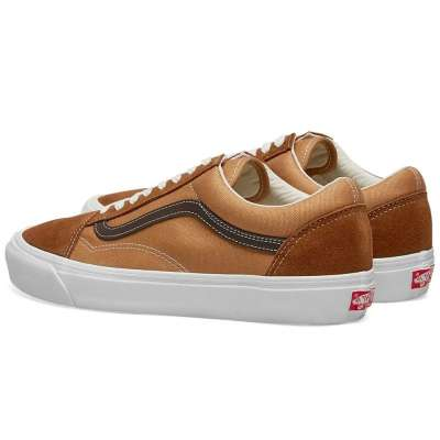 Vans Vault Old Skool LX (Suede/Canvas) Monk's Robe/Brown Sugar
