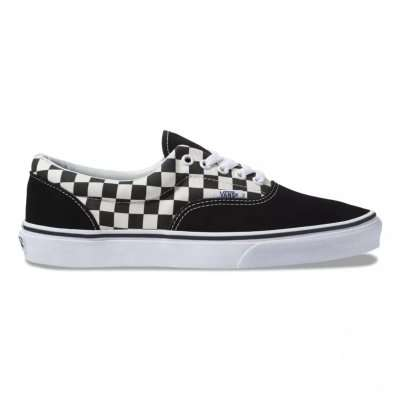 Vans Era (Primary Check) Black/White