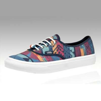 Vans Authentic Slim Tribal Print & Marshmallow