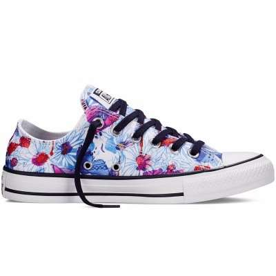 Converse Ctas Ox Daisy Spray Paint