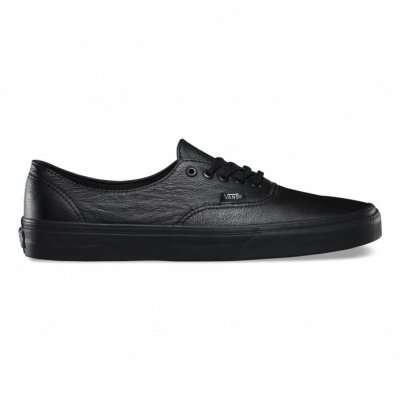 Vans Authentic Decon (Premium Leather) Black/Black