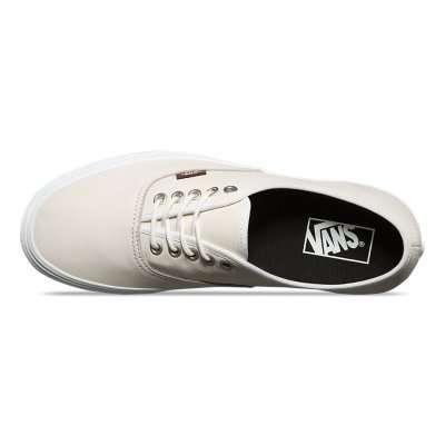 Vans Authentic (Leather) Blanc de blanc/Potting Soil