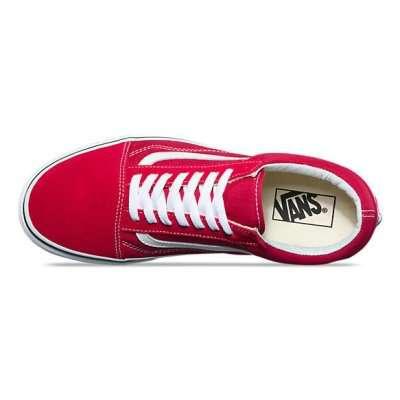 Vans Old Skool Crimson/True White