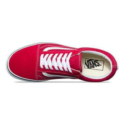 Vans Old Skool Crimson/True White
