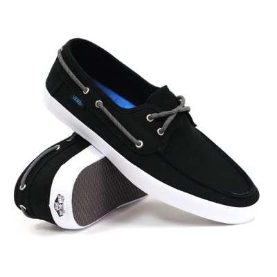 Vans Chauffeur Black/White/Blue