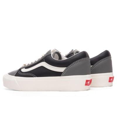 Vans Vault Old Skool LX (Leather) Charcoal/Black