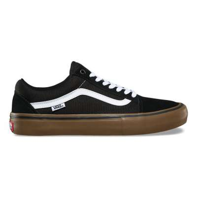 Vans Old Skool Pro Black/Medium Gum