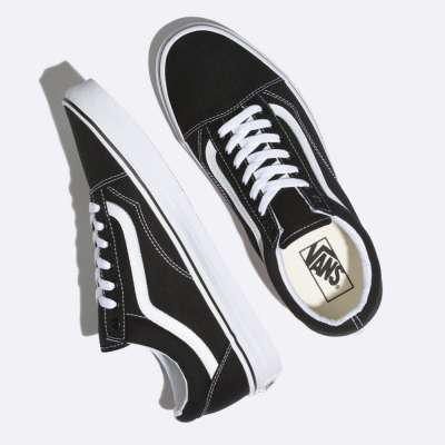 Vans Old Skool (Canvas) Black/White